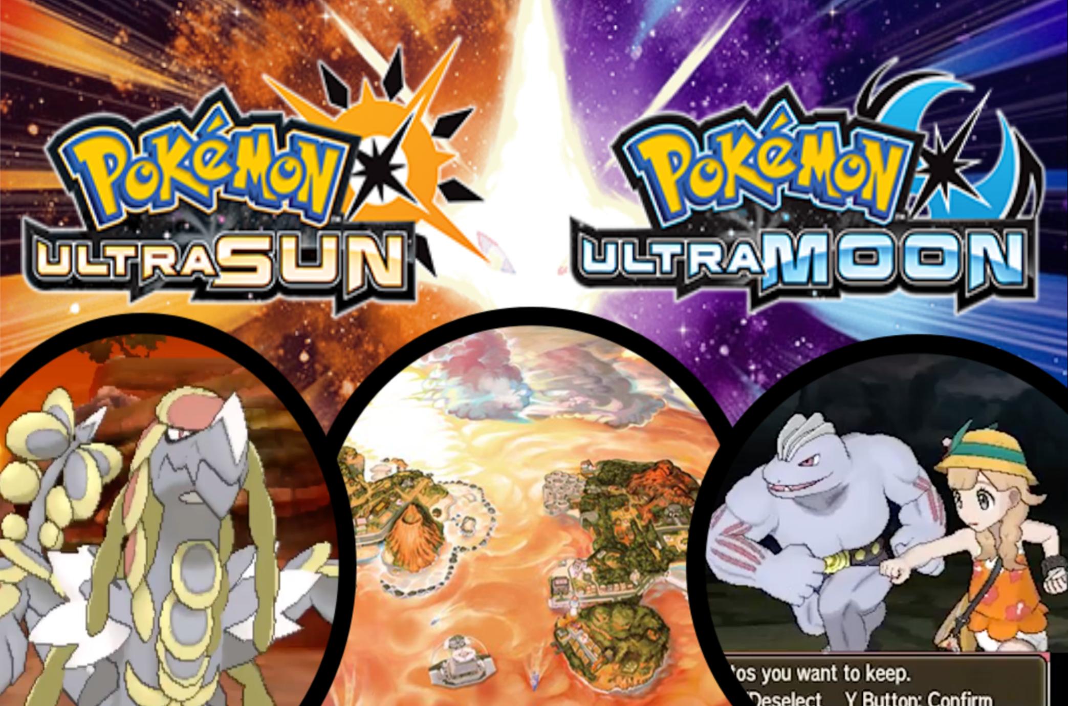 Pokémon Ultra Sun and Pokémon Ultra Moon | Video Games & Apps