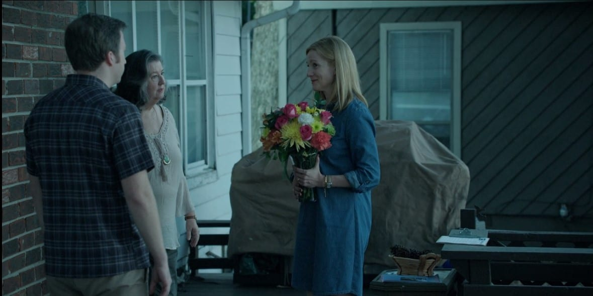 Sam Dermody (Kevin L. Johnson), Eugenia Dermody (Sharon Blackwood) and Wendy Byrde (Laura Linney) in Ozark season 1 episode 6 'Book of Ruth' Screen capture credit: Netflix