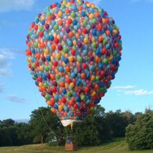 The \'Up\' hot air balloon