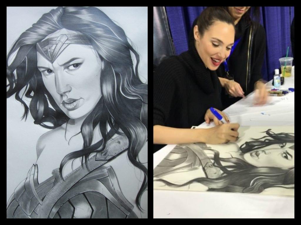 Cory Smith,Wonder Woman, Gal Gadot