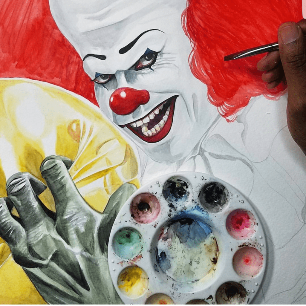 Pennywise, It, Stephen King