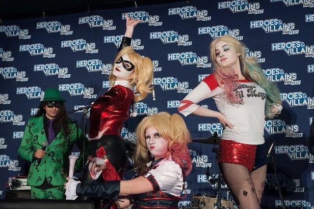 Heroes and Villains Fan Fest, Harley Quinn, Joker, Cosplay