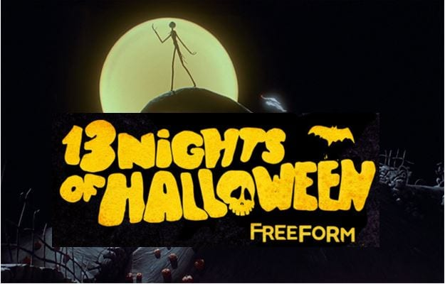 freeforms 13 nights of halloween schedule is finally here fan fest for fans by fans