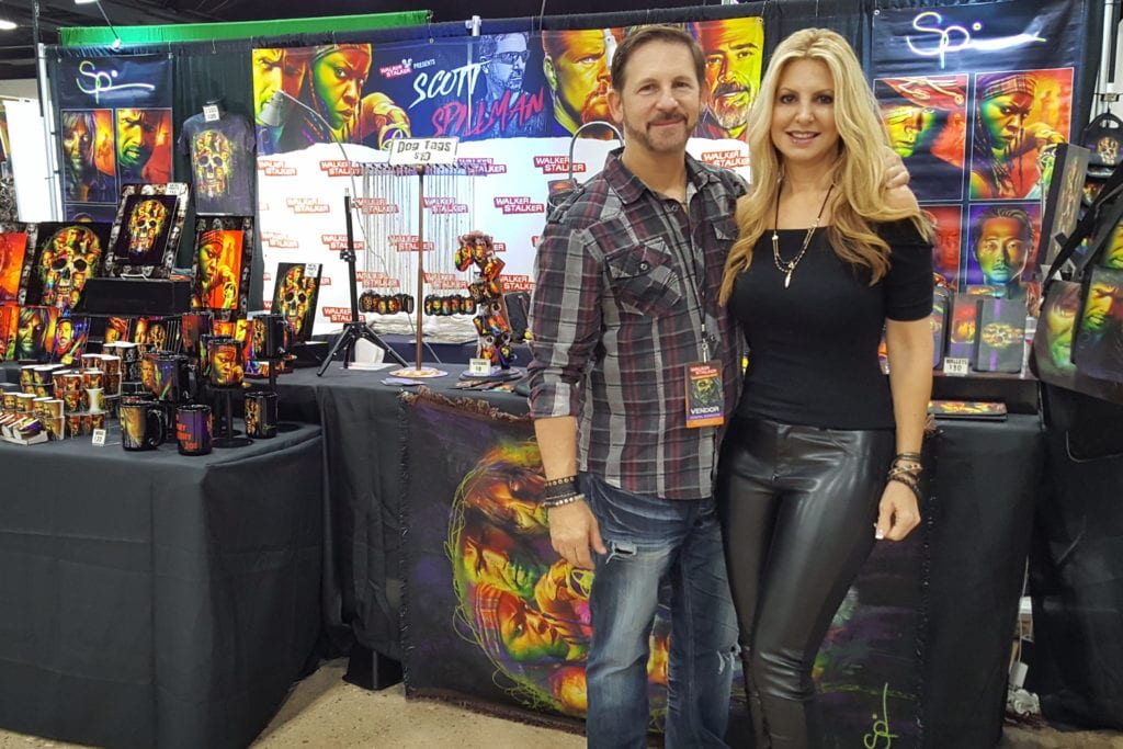 Scott Spillman, Becky Jones, Walker Stalker Con, The Walking Dead