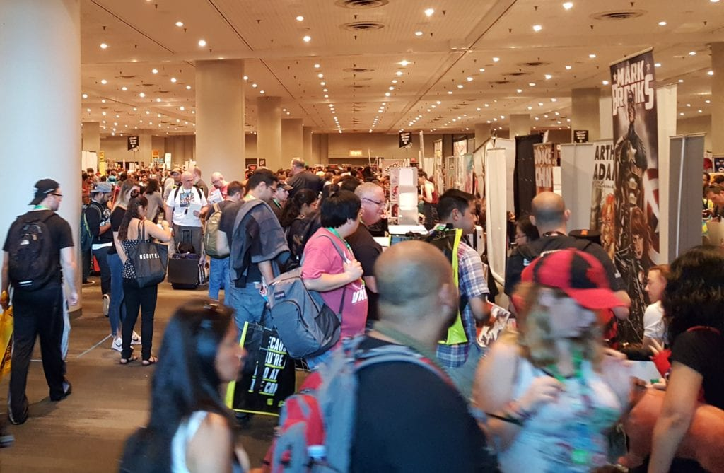 New York Comic Con, Artist Alley