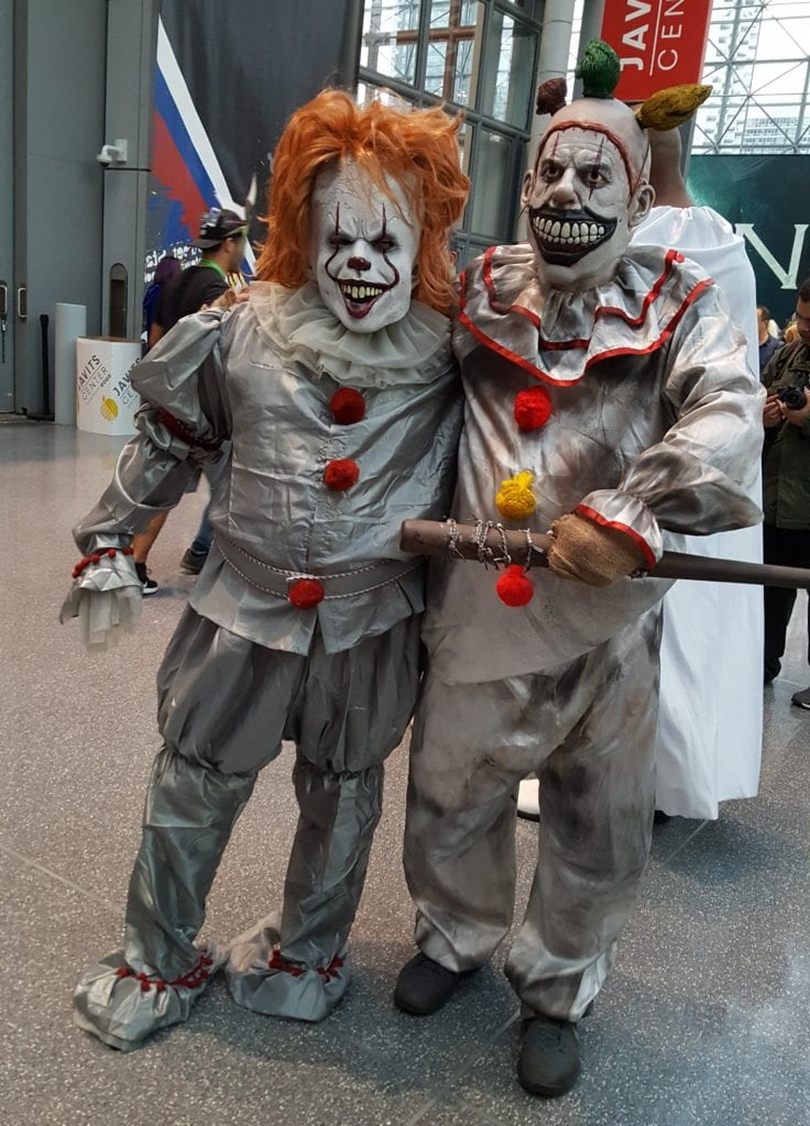 New York Comic Con, Cosplay, Pennywise, Twisty
