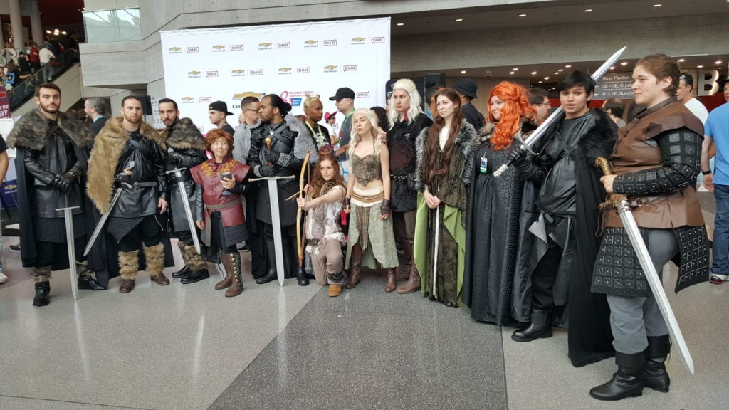 New York Comic Con, Cosplay, game of Thrones