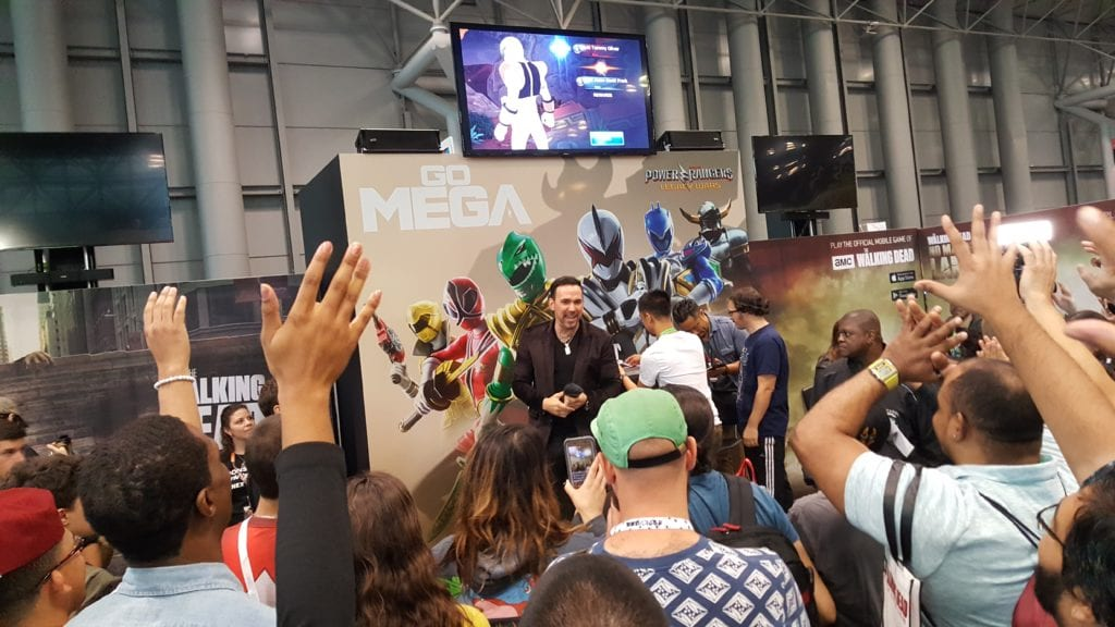 New York Comic Con, Jason David Frank