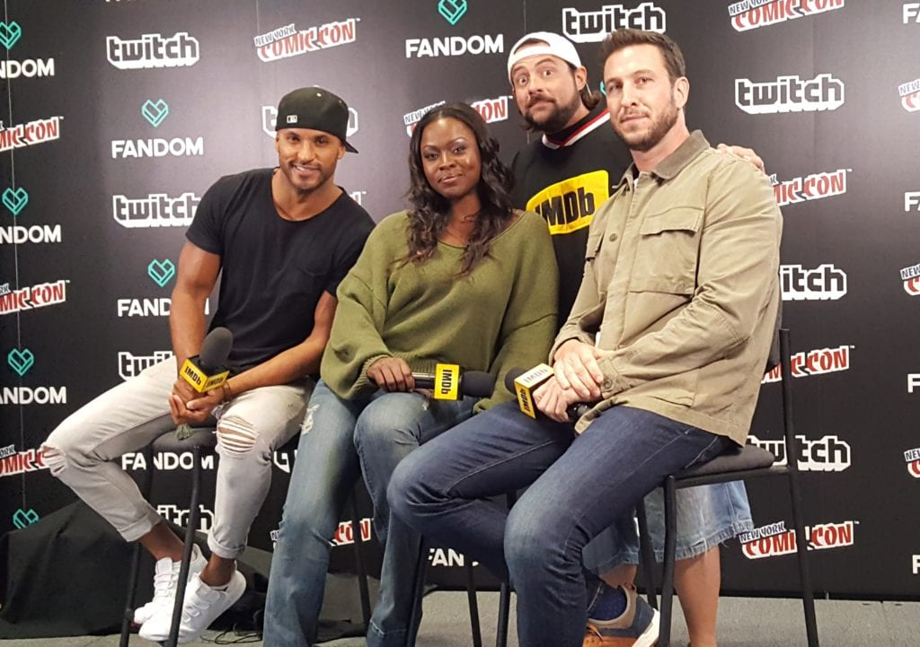 New York Comic Con, Kevin Smith, American Gods