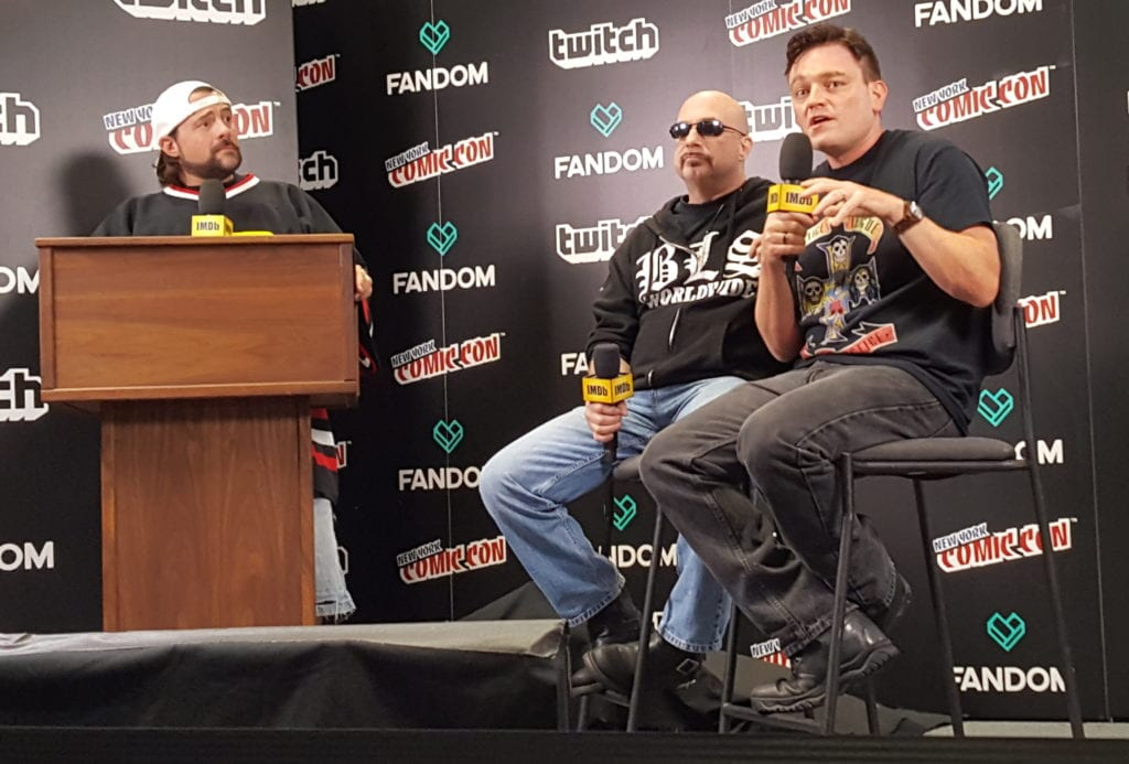 New York Comic Con, Kevin Smith. Greg Capullo, Scott Snyder