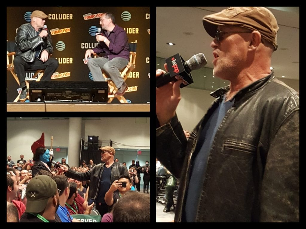 New York Comic Con, Michael Rooker, Guardians of the Galaxy, The Walking Dead, Yondu, Merle Dixon