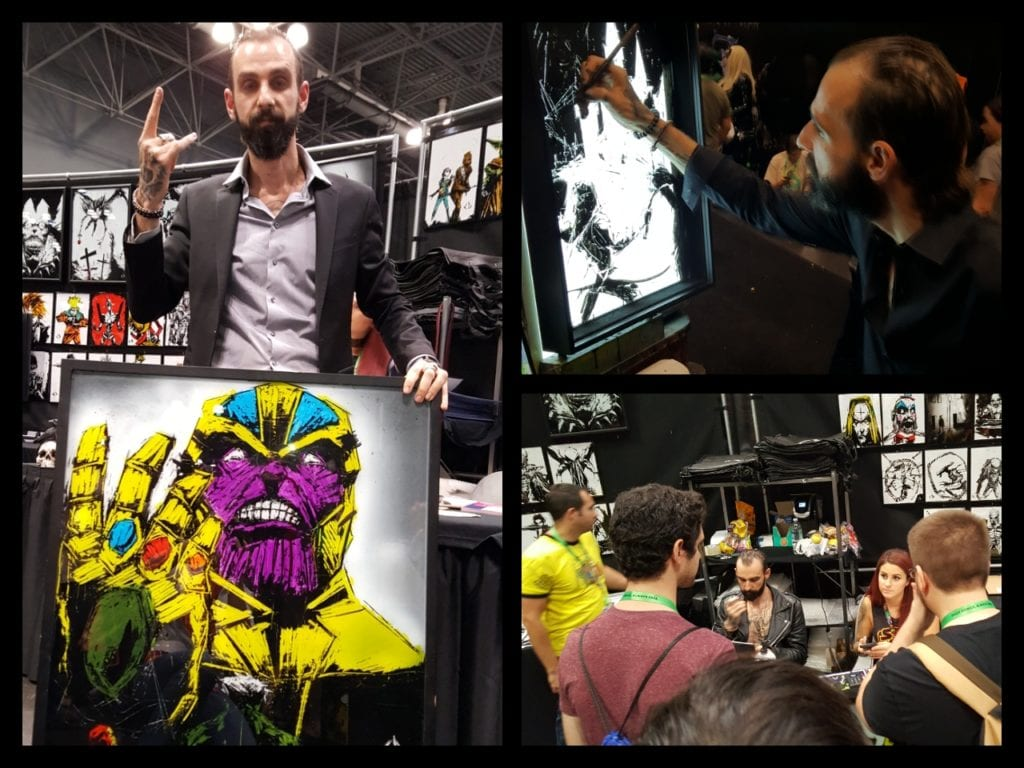 New York Comic Con, CJ Draden