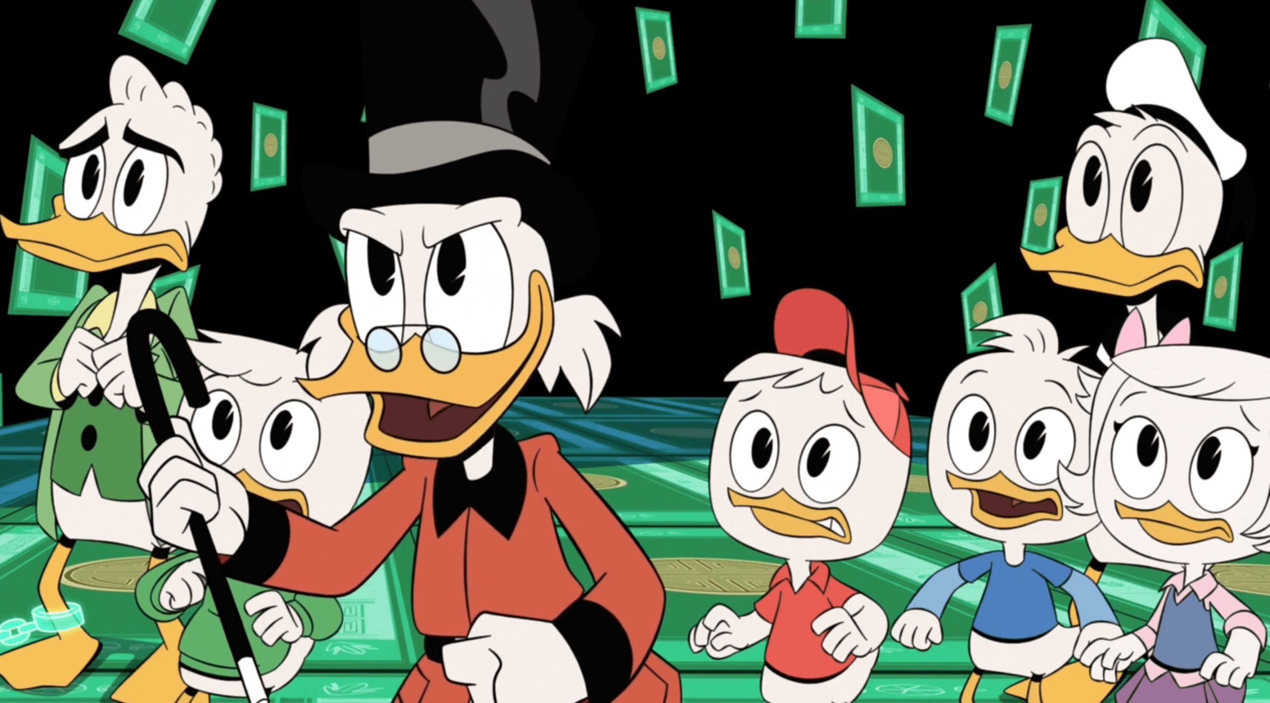 Ducktales watch review episode 06 the house of the lucky gander fan fest for fans Unlucky house