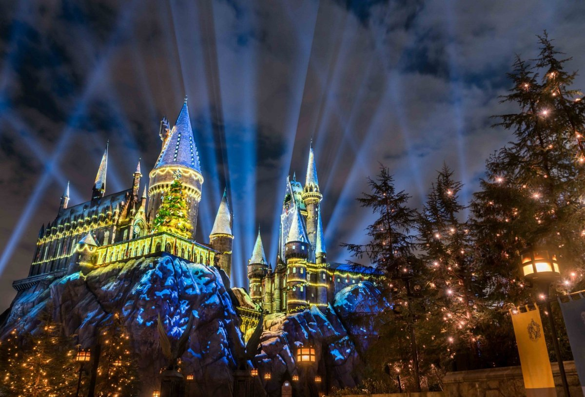 Christmas Harry Potter.Christmas In The Wizarding World Of Harry Potter Looks Like Pure