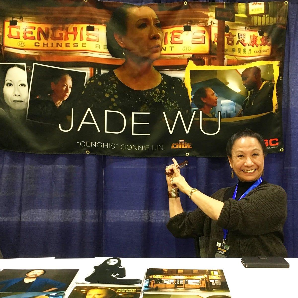 Jade Wu, Genghis Connie Lin, Luke Cage