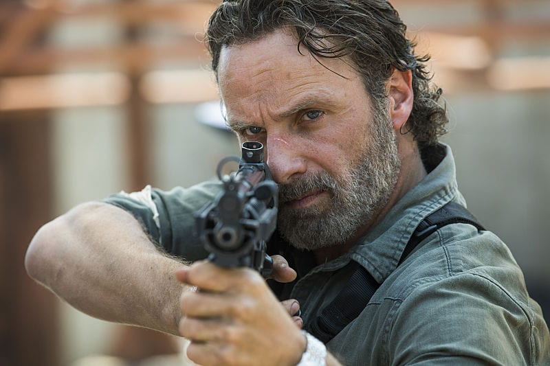 The Walking Dead: Photos of Andrew Lincoln Preparing Return with Target Practice - Fan Fest | For Fans, By Fans