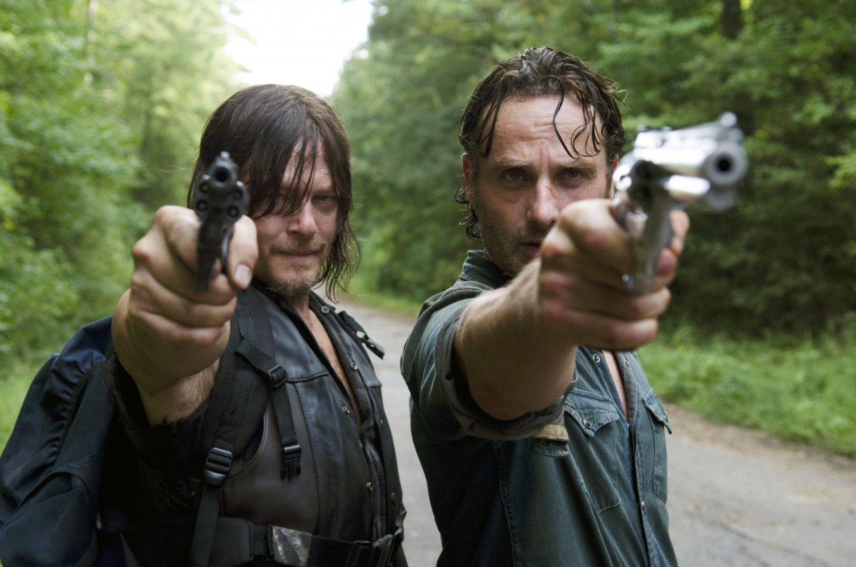 the walking dead rick grimes and daryl dixon are still the epitome