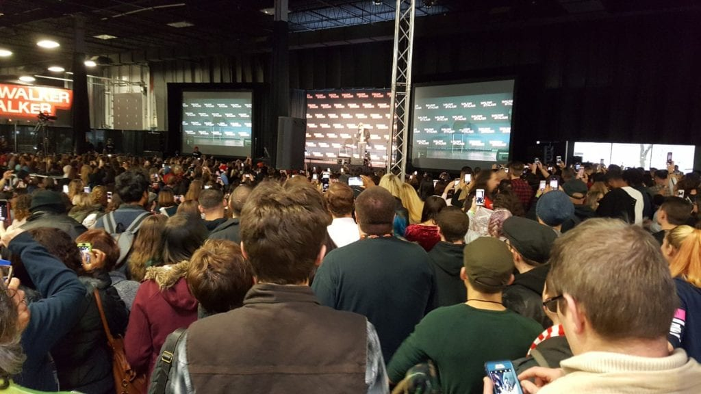 Walker Stalker Con, Walking Dead, Negan, Jeffrey Dean Morgan