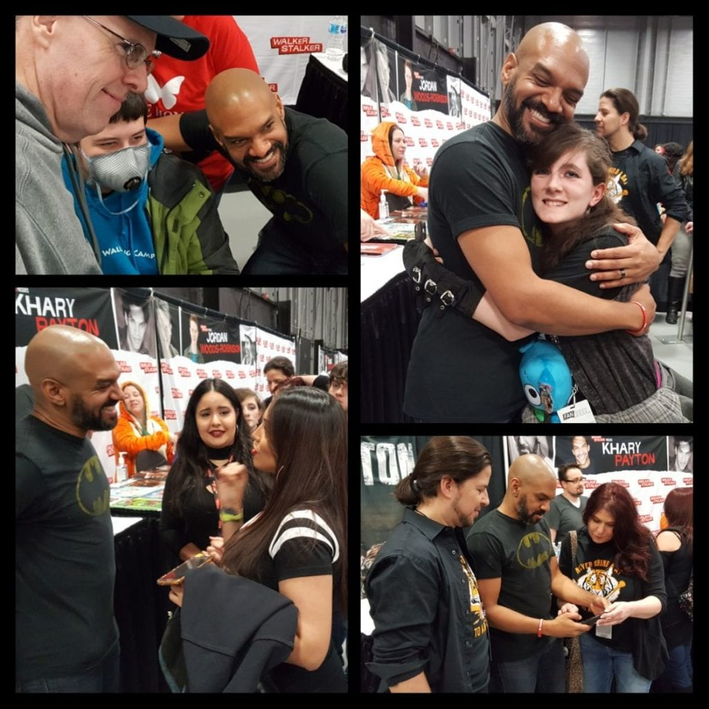 Walker Stalker Con, The Walking Dead, King Ezekiel, Khary Payton