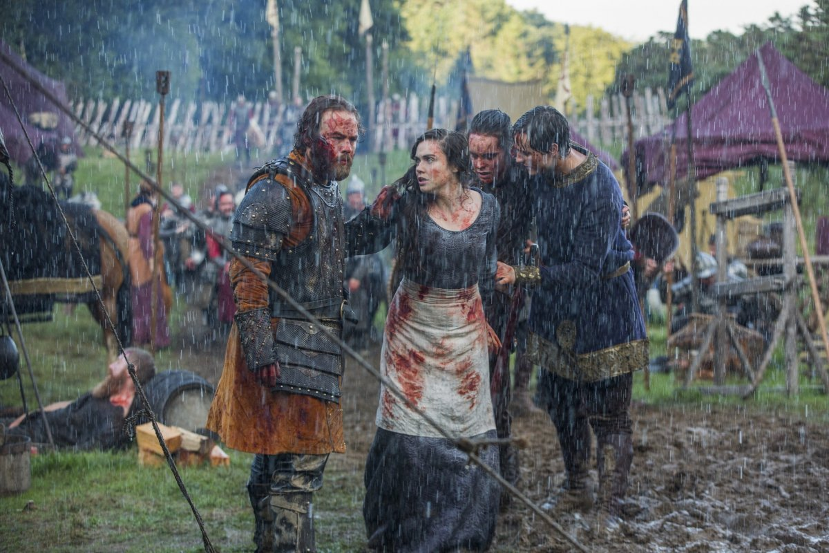 Vikings season 3 episode 10 history tv bdsm whipping femdom - 2 3