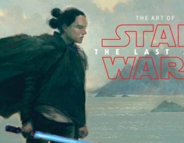 The Art of Star Wars: The Last Jedi, Rey