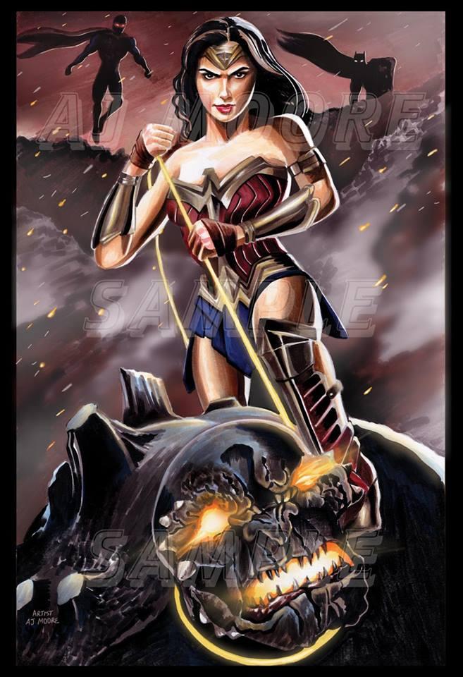 AJ Moore, Wonder Woman