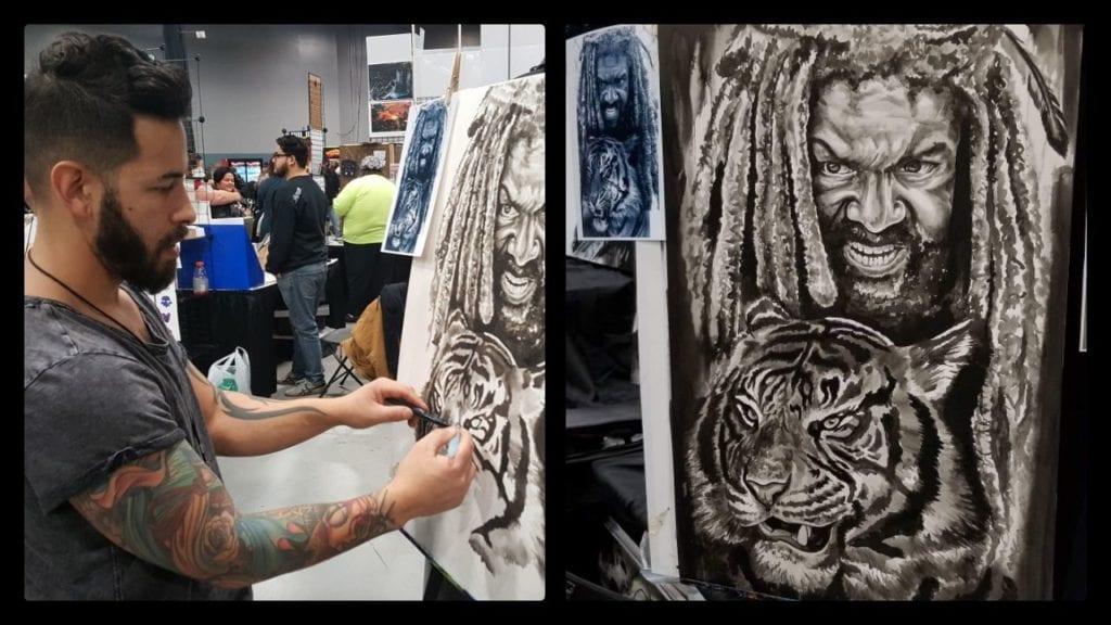 Christian Masot, The Walking Dead, King Ezekiel, Khary payton