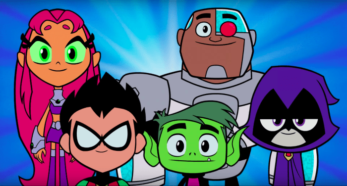 go Teen cartoon titans