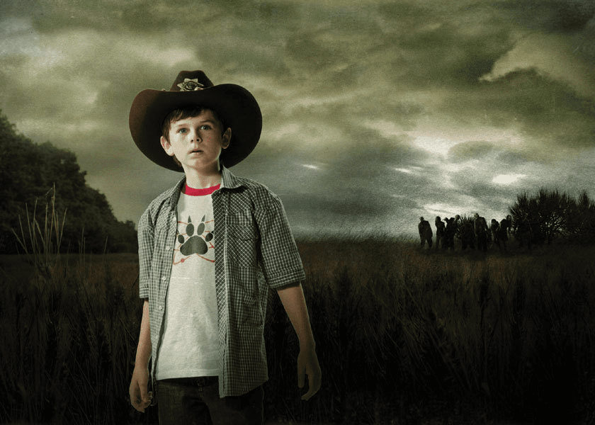 Throwback Thursday 30 Photos Looking Back At Carl Grimes On The