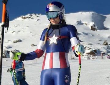 Marvel, Olympics, Captain America, Avengers, Lindsay Vonn