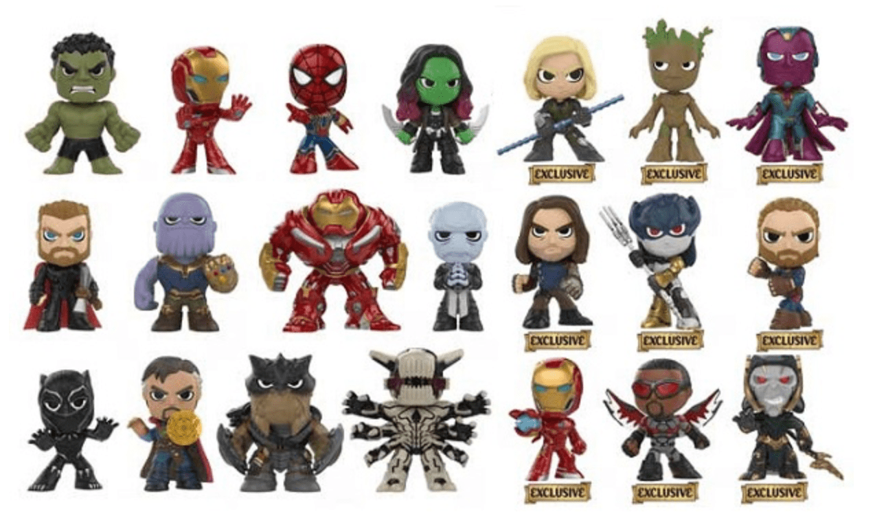 see the line of avengers: infinity war funko toys coming this spring