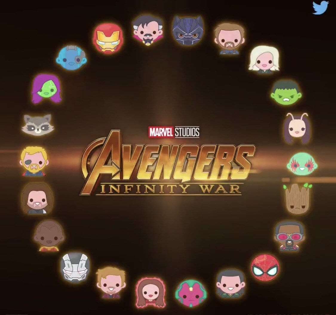22 'Avengers: Infinity War' Emojis Were Released During the Super