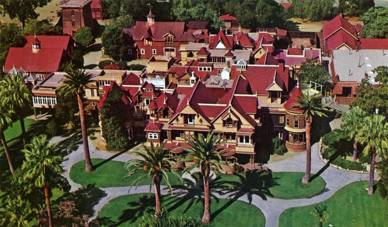 The True Story Behind the New Movie Winchester Fan Fest – Sarah Winchester House Floor Plan