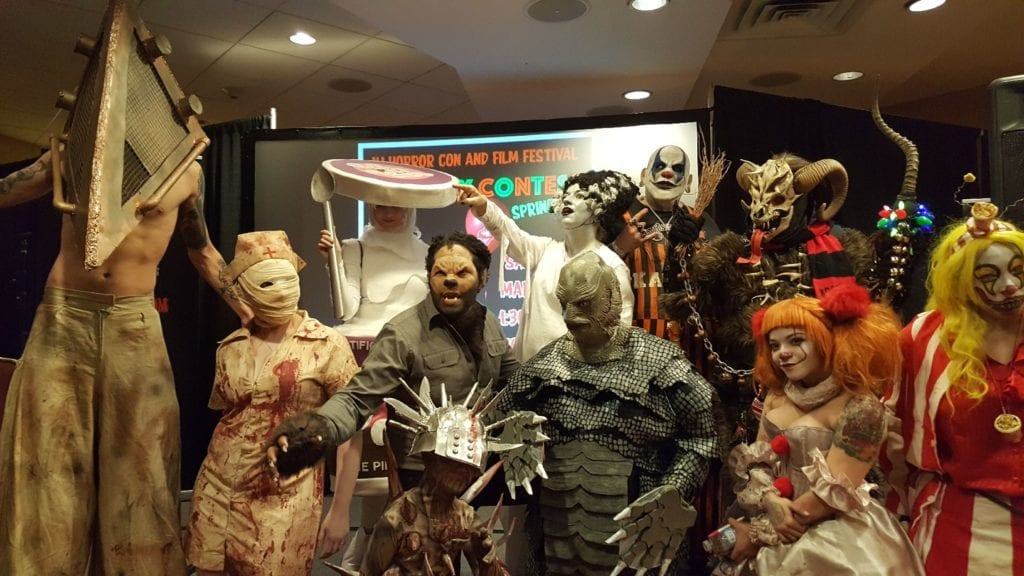 NJ Horror Con, Cosplay