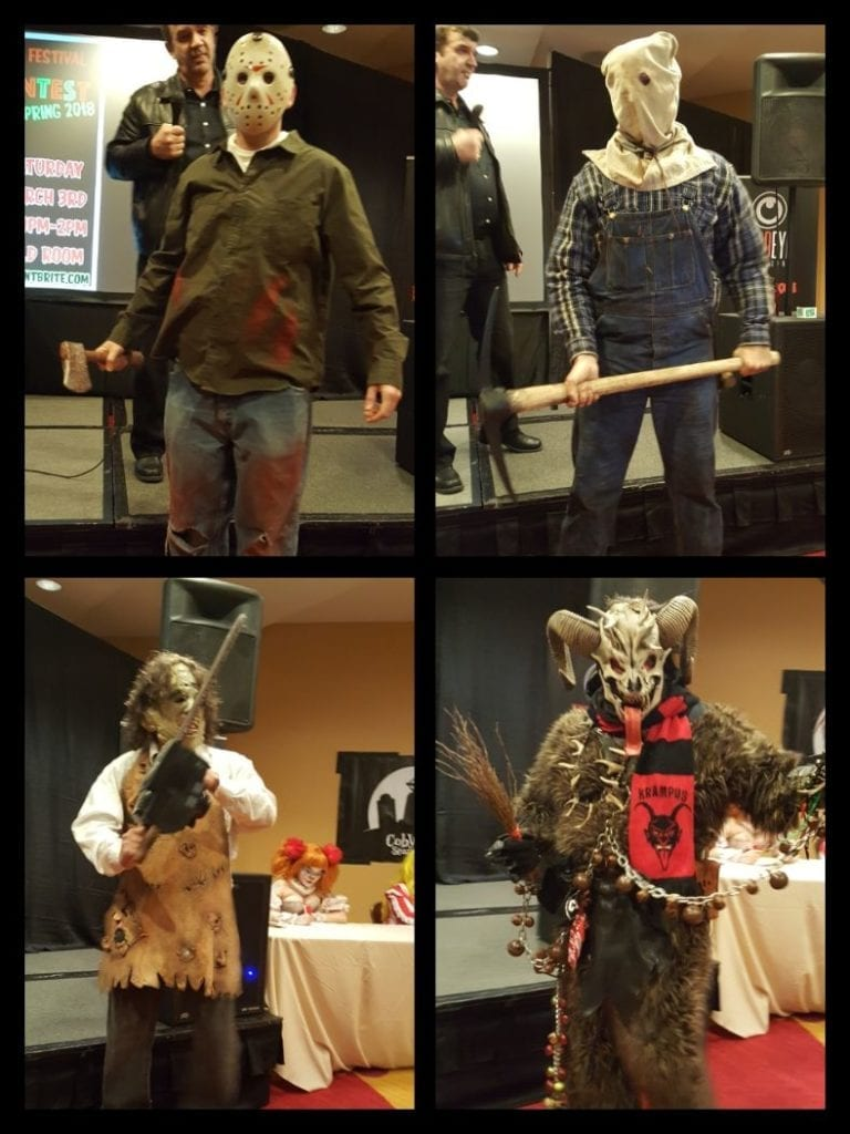 NJ Horror Con, Michael Myers, Jason Voorhees, Leatherface, Krampus