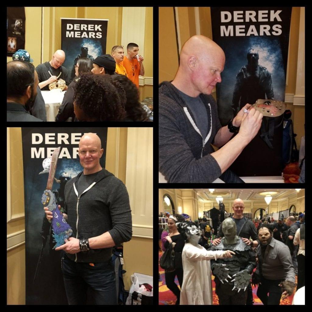 NJ Horror Con, Derek Mears