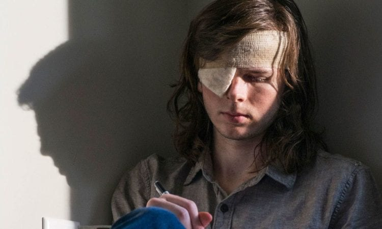 The walking dead star chandler riggs watches fan reactions of the walking dead star chandler riggs watches fan reactions of carls death fan fest for fans by fans m4hsunfo