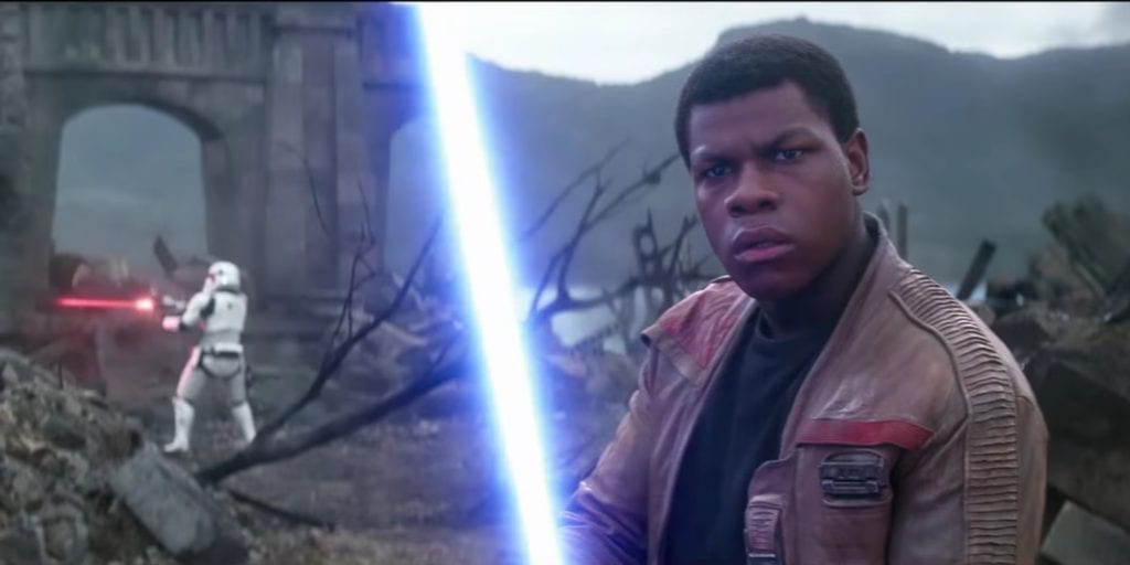 John Boyega, Star Wars: The Last Jedi, Finn