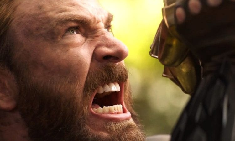 let�s talk that captain america and thanos �infinity war