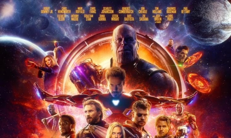see the official poster for 'avengers: infinity war' – fan fest