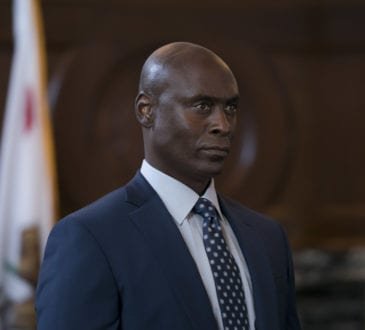 """Bosch: Season 4"" - Lance Reddick in Bosch season four"
