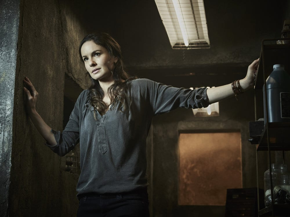 COLONY -- Season:2 -- Pictured: Sarah Wayne Callies as Katie Bowman -- (Photo by: Justin Stephens/USA Network)