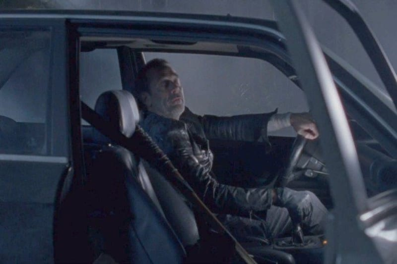The Walking Dead Who Did Negan on Car With Hand Crank Starter