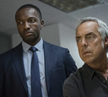 """Bosch: Season 4"" - Jamie Hector and Titus Welliver in Season 4 of Bosch."