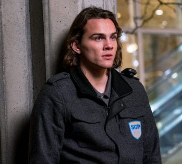 "COLONY -- ""The Big Empty"" Episode 309 -- Pictured: Alex Neustaedter as Bram Bowman -- (Photo by: Daniel Power/USA Network)"