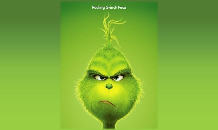 1506fab9f9a54 Beware of Resting Grinch Face and Watch the Second Trailer for  The Grinch