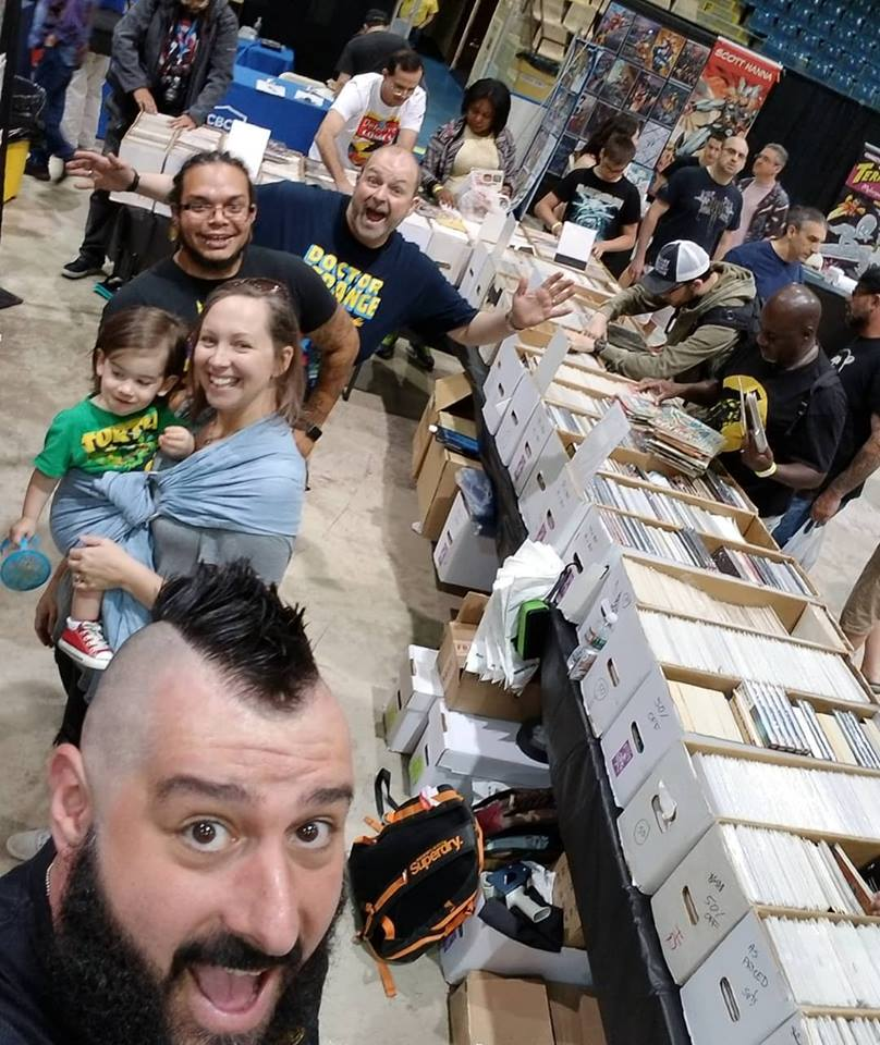 Garden State Comic Fest, East Side Mags