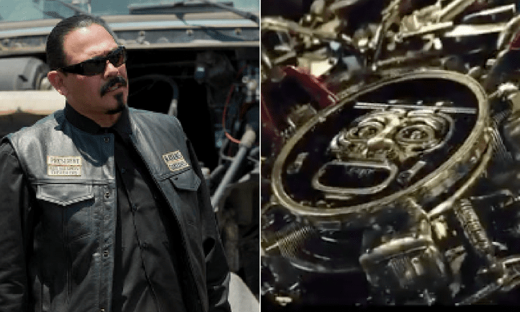 Sons of anarchy mayans bikes