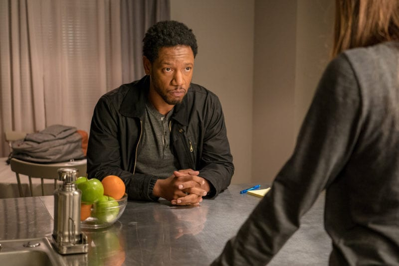 """COLONY -- """"Bonzo"""" Episode 312 -- Pictured: Tory Kittles as Broussard -- (Photo by: Daniel Power/USA Network)"""