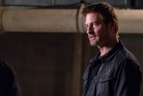"""COLONY -- """"What Goes Around"""" Episode 313 -- Pictured: Josh Holloway as Will Bowman -- (Photo by: Daniel Power/USA Network)"""